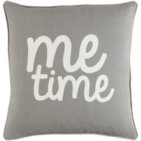 """Me Time"" Decorative Pillow"