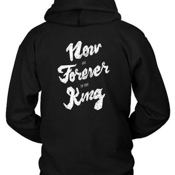 DCCKG72 M83 Outtro Lyrics Hoodie Two Sided
