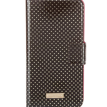 kate spade new york Tiny Gold Dot iPhone 6 Plus Folio Case | Dillards