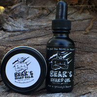 Bear's Beard Kit - Balm + Oil