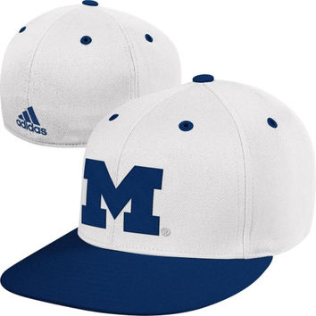 adidas Michigan Wolverines On-Field Baseball Fitted Hat-