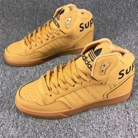 Adidas x Supreme x LV Louis Vuitton High Help Fashion Trending Leisure Running Sports Shoes I-CSXY Yellow