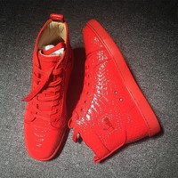 Cl Christian Louboutin Python Style #2251 Sneakers Fashion Shoes - Best Deal Online