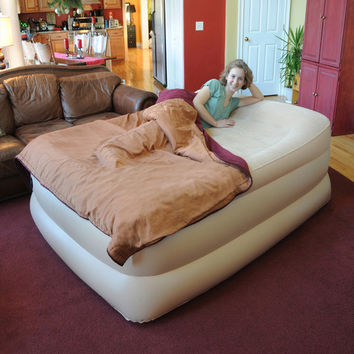 """Easy Riser Single Touch 25"""" Air Bed with Single Touch Remote"""