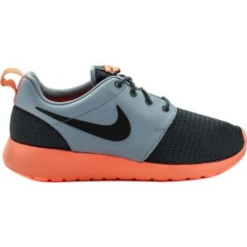 Nike 511881-097 Roshe Run Mens Running Shoes (Grey/Mango) at Shoe Palace