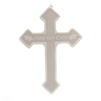 Religious Bless This Child Wall Cross Home Decor