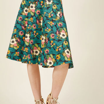 Pretty Much Paradise Midi Skirt