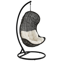haven outdoor hanging chair | modern outdoor lounge chairs | eurway