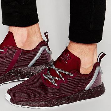 adidas Originals Asymmetrical ZX Flux Trainers AQ6658 at asos.com