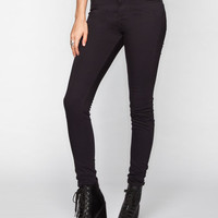 Rsq Manhattan High Rise Womens Skinny Jeans Black  In Sizes