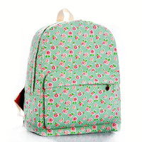 Floral Green Backpack = 4887824388