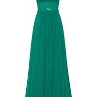 Elie Saab - Stretch silk-blend chiffon gown