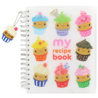 cupcake face recipe book at Paperchase