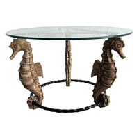 American Art Deco SEAHORSE Table