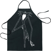 Nightmare Before Christmas Jack Character Apron Black