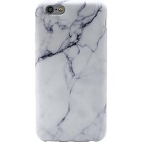iPhone 6 Case LiangYe IMD Slim-Fit Ultra-Thin Anti-Scratch Shock Proof Dust Proof Anti-Finger Print TPU Case for iPhone 6 (4.7 inch) - Whole White Marble