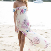 Truly Yours Floral Maxi Dress