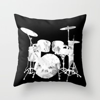 Invert drum Throw Pillow by Hedehede