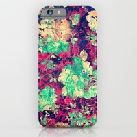 VINTAGE FLOWERS XXXVII - for iphone iPhone & iPod Case by Simone Morana Cyla