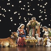 "6-piece 5"" Nativity Set"