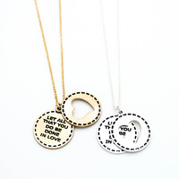 Do all in Love necklace