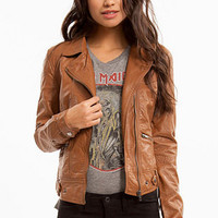 Lumi Leather Motorcycle Jacket $47