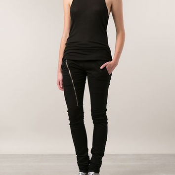 Rick owens drkshdw - 'AIRCUT DETROIT' FITTED TROUSERS