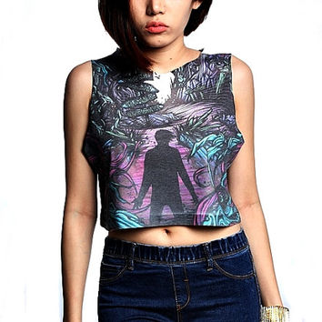 A Day To Remember Crop Top Tank Shirt Cropped Tops S M L