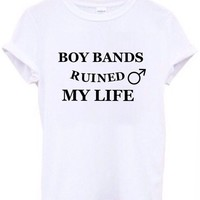 Boy bands ruined  my life from Lucky Fox