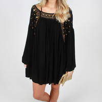 Gypsy Dance Dress - Black