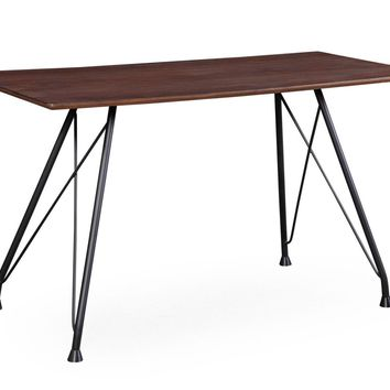 Dorian Mid-Century Modern Office Desk Coffee