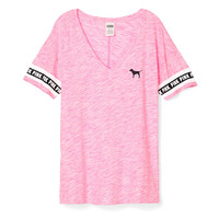 Boyfriend V-Neck Tee - PINK - Victoria's Secret