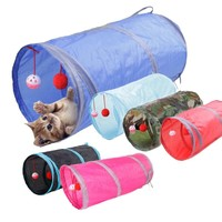 Funny Pet Cat Tunnel
