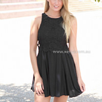 MANHATTAN DRESS , DRESSES, TOPS, BOTTOMS, JACKETS & JUMPERS, ACCESSORIES, 50% OFF , PRE ORDER, NEW ARRIVALS, PLAYSUIT, COLOUR, GIFT VOUCHER,,LACE,SLEEVELESS,Black,MINI Australia, Queensland, Brisbane