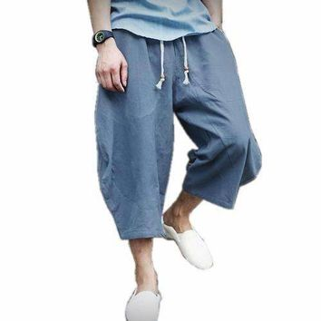 Linen Loose Harem Pants