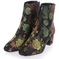 KOBRA Embroidered Boots - Shoes
