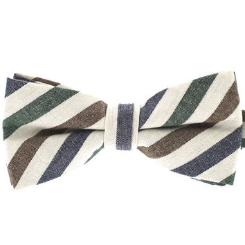 Tok Tok Designs Pre-Tied Bow Tie for Men & Teenagers (B389, 100% Cotton)