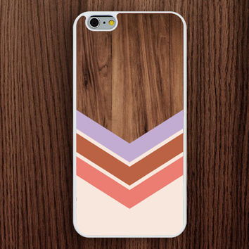 Iphone 6 Casepastel Color Wood Plus Casewood Chevron