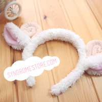 Plush Sheep Headband