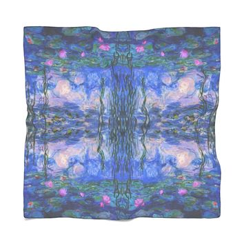 Monet Water Lilies Scarf