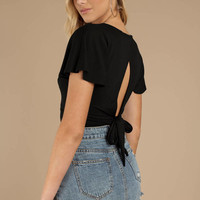 Kamryn Back Cutout Top