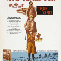 True Grit 11x17 Movie Poster (1969)