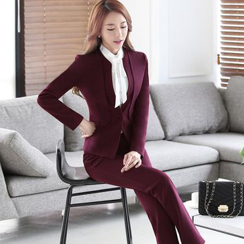 Women's Business Suit in 3 Colors and Options. S to 4XL