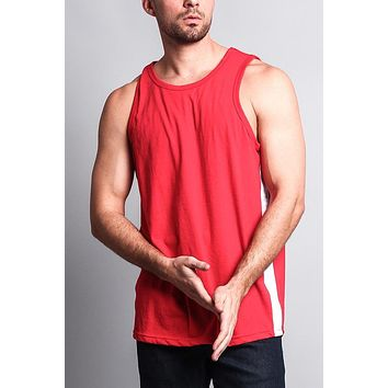 Men's Tank Top with Accent Band TT49 - F1C
