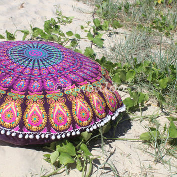 Bohemian floor cushions ~ Covers only