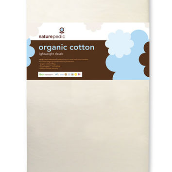 Naturepedic Organic Cotton Crib Mattress: Lightweight Classic