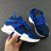 ADIDAS EQT Girls Boys Children Baby Toddler Kids Child Durable Breathable Sneakers Sport Shoes-9
