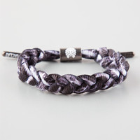 Rastaclat Antimatter Shoelace Bracelet Black/White One Size For Men 25462912501