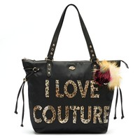 Juicy Couture Sport ''I Love Couture'' Tote (Black)