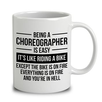 Being A Choreographer